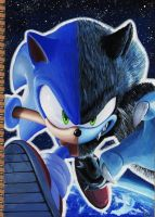 Sonic unleashed (My doodling notebook) by raseinn