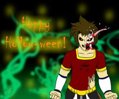 Happy Hollow-ween by JoeyTheMostAwesome