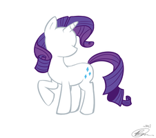 Rarity by MelTheInvader