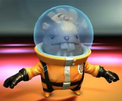space beaver by polyphobia3d