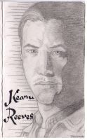 Keanu Reeves by drawu1