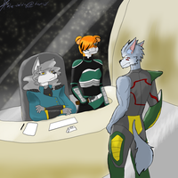 Starfox: The Deal by Blue-and-Dog