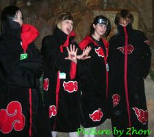 The Akatsuki by Zhon