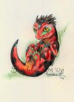 Baby Argonian by ShadowedLight