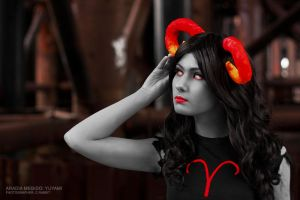 Homestuck - Aradia Megido 1 by CrazyRabbit