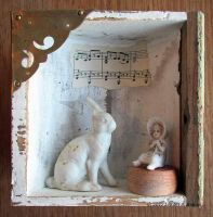 Assemblage: Little Alice by bugatha1