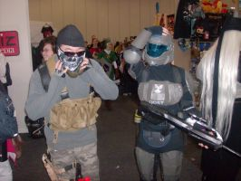 Ghost + ODST Cosplay by hinn888
