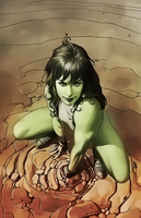 She-Hulk by Aspersio