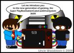 Game Consoles by UncleWoodstock