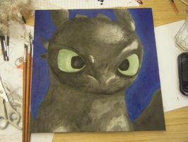 Toothless Painting - 5 by Ahea