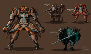 Mecha_design by koosha