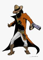 The Gunslinger by 7-colores