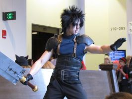 Anime Boston 2012 - Zack Fair by VideoGameStupid