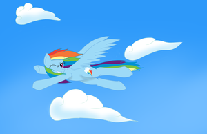Rainbow Dash by Franklord