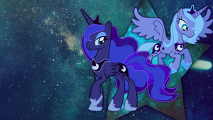 Wallpaper: Princess Luna by MadBlackie