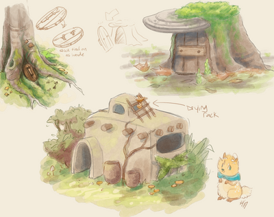 Shroomkin Home Concepts by Herboreal