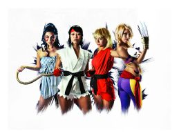 Street Fighter Girls by stylechameleon