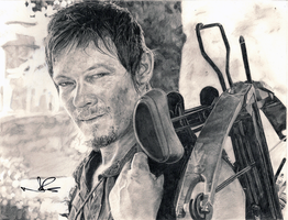 Daryl Dixon by R-R-RADICAL
