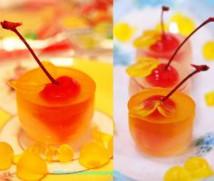 Delicious Maraschino Cherry Cups (recipe included) by theresahelmer