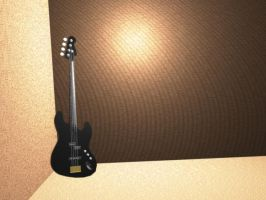 3d Electric Bass by radstylix