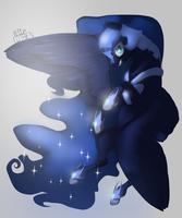 Nightmare Moon. by sofilut