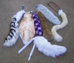 tails for costumes by LilleahWest