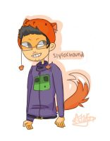 slyfoxhound by eiminut