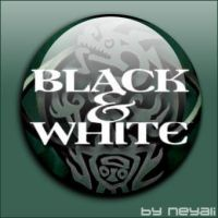 black and white by neyali