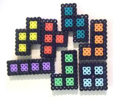 tetris magnets by seethecee