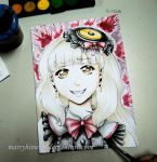 Mayu watercolors by Marryhime94