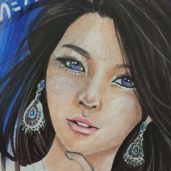 Ailee WIP Sneak Peak by Vane553