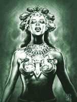 akasha queen of the vampiro by AdmiraWijaya