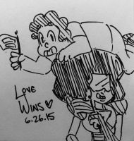 Day 170: Love Wins by Artistic-Winds