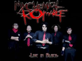 MCR in Black by Rainesperanza