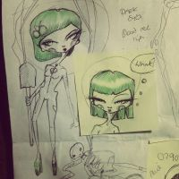 Lunch time scribbles by Victoria-mortuary