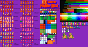 Old New Super Mario Bros. SPRITES by G0ATFAC3