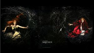 mcqueen fall wallpaper by ronnieBEe