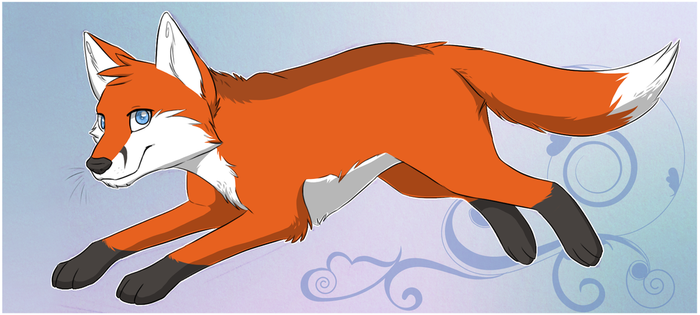Fox Bookmark -Free To Use- by ShimmiDragon