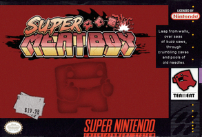 Super Meat Boy SNES Cover by gundalfx