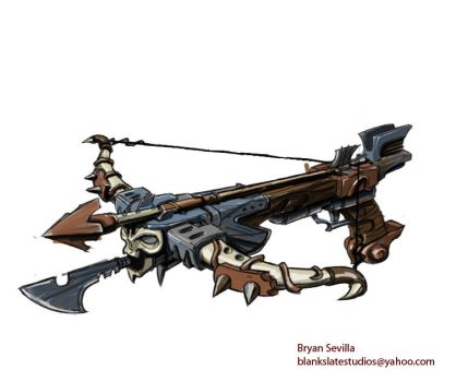 Crossbow Concept Art by Bogata