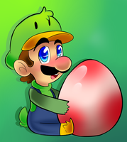 Luigi Duck  by raygirl12