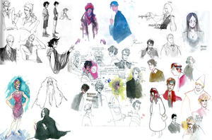 Very potter drawings by javvie