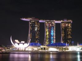 Marina Bay Sands by nicholaskau