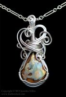 Mom's Boulder Opal Pendant by Nambroth