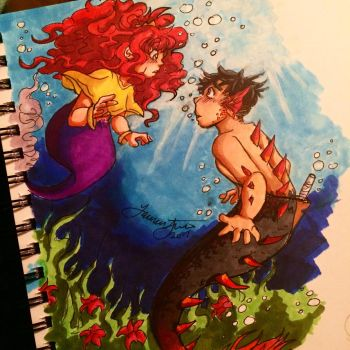 It's mermay and I'm alive??  by TotalRenji13