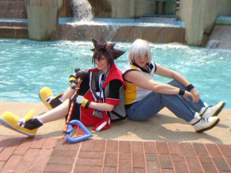 Kingdom Hearts DDD~ Sora and Riku by TheDoorWithin
