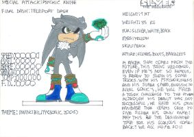 Speed Riders Silver The Hedgehog trophy by filibolt