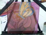 A Rose with a Butterfly by DisneyandZimFanatic
