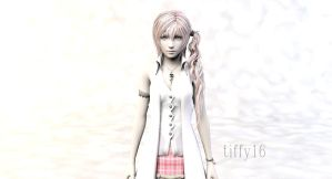 Serah 3DS Max by YunieSummoner