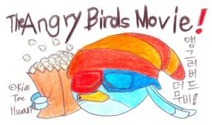Willow goes to see the Angry Birds Movie! by komi114